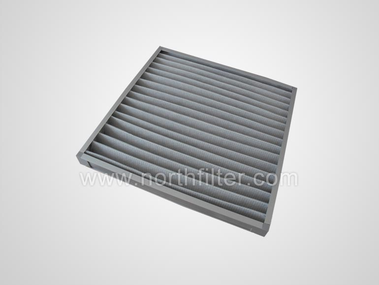 Primary-efficiency panel filter