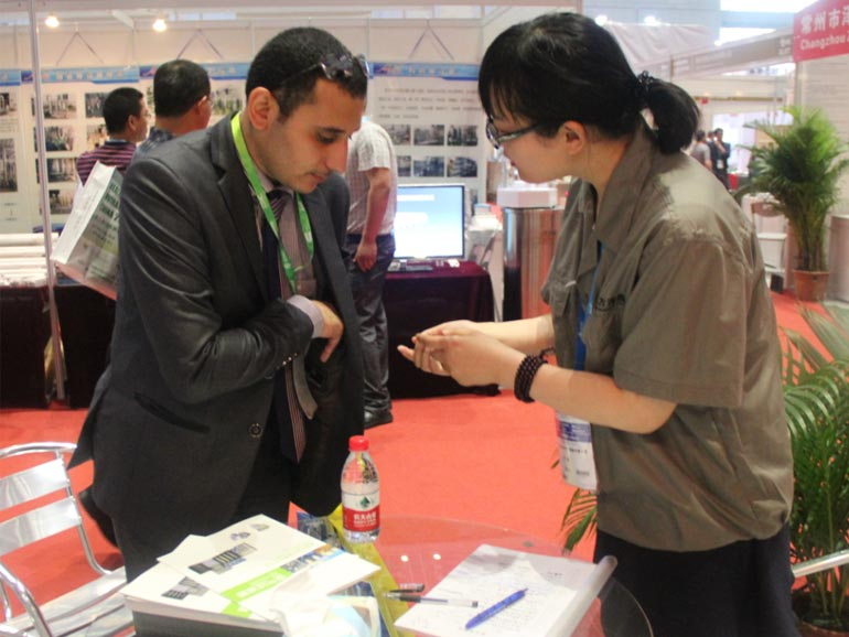 The 74th API Fair During May 15-17 2015 in Shanghai